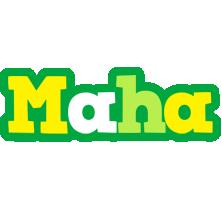Maha soccer logo