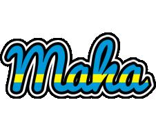 Maha sweden logo