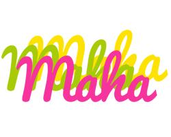Maha sweets logo