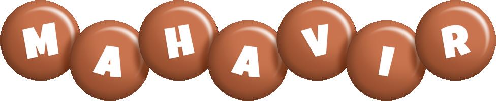 Mahavir candy-brown logo