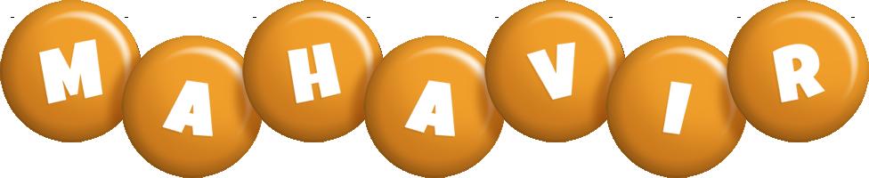 Mahavir candy-orange logo