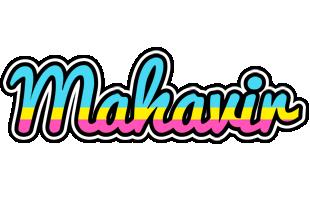 Mahavir circus logo
