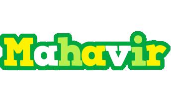 Mahavir soccer logo