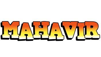Mahavir sunset logo