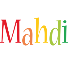Mahdi birthday logo