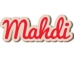 Mahdi chocolate logo