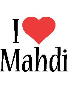 Mahdi i-love logo