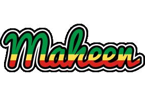 Maheen african logo
