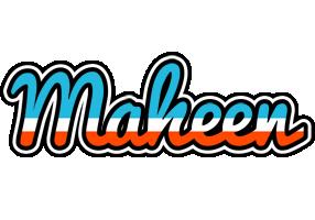 Maheen america logo
