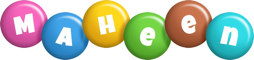 Maheen candy logo