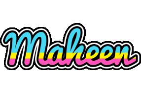 Maheen circus logo