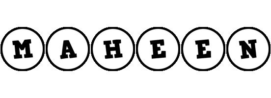 Maheen handy logo