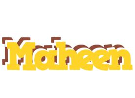 Maheen hotcup logo