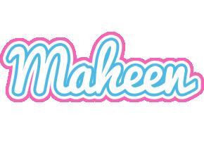 Maheen outdoors logo