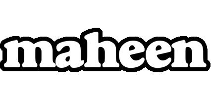 Maheen panda logo