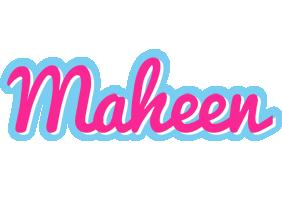 Maheen popstar logo
