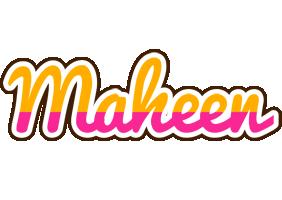 Maheen smoothie logo