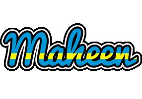 Maheen sweden logo