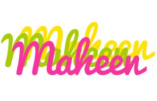 Maheen sweets logo