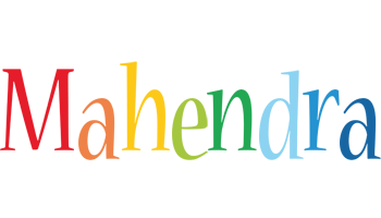 Mahendra birthday logo