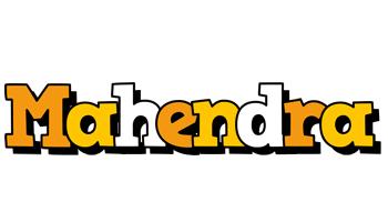 Mahendra cartoon logo