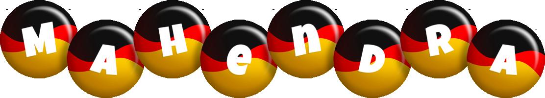 Mahendra german logo