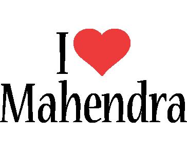 Mahendra i-love logo