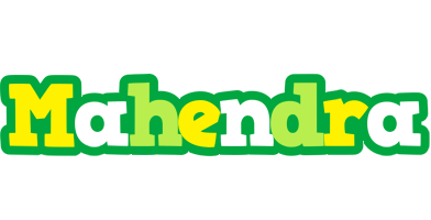 Mahendra soccer logo