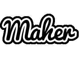 Maher chess logo