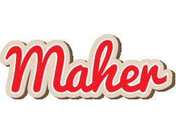 Maher chocolate logo