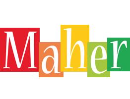 Maher colors logo
