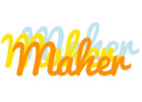 Maher energy logo