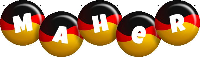 Maher german logo