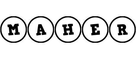 Maher handy logo