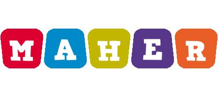 Maher kiddo logo