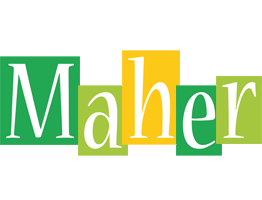 Maher lemonade logo