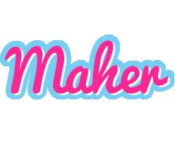 Maher popstar logo