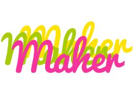 Maher sweets logo