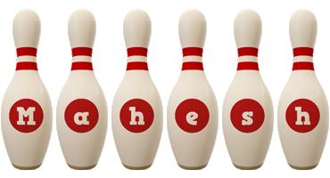 Mahesh bowling-pin logo