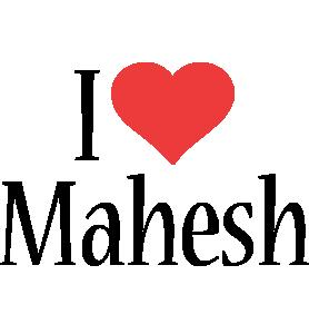 Mahesh i-love logo
