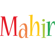 Mahir birthday logo
