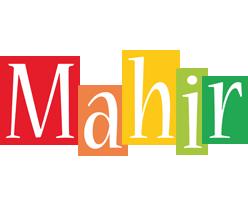 Mahir colors logo