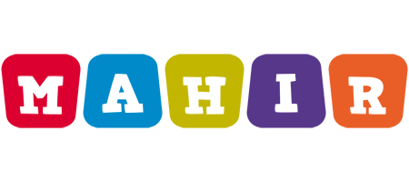 Mahir kiddo logo
