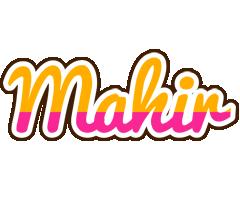 Mahir smoothie logo