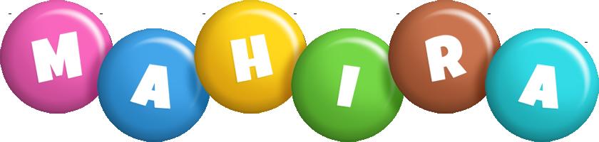 Mahira candy logo