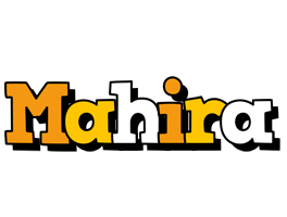 Mahira cartoon logo