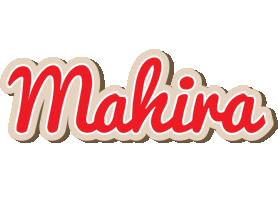 Mahira chocolate logo