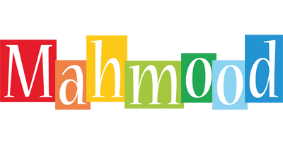 Mahmood colors logo
