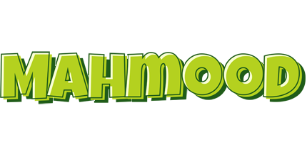 Mahmood summer logo