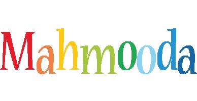 Mahmooda birthday logo